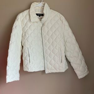 Kenneth Cole Reaction Coat- White - XL - 000091